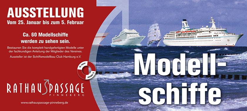 Ausstellung Modellschiffe