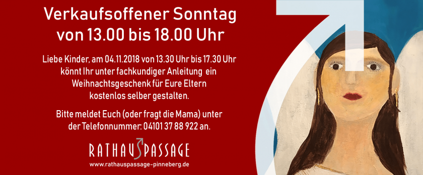 Verkaufsoffener Sonntag – 04.11.