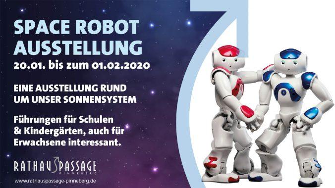 SPACE ROBOT AUSSTELLUNG